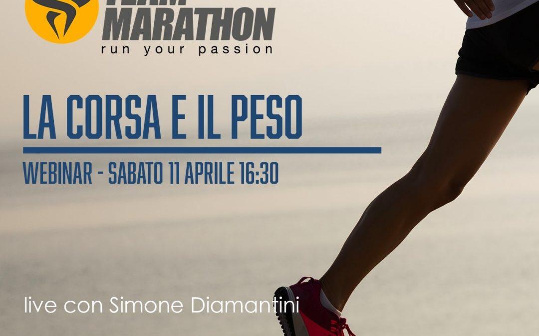 La corsa? È anche una questione di peso e di cadenza, rivedi il webinar di Simone Diamantini